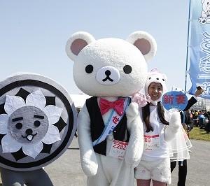 毎年恒例になってきた仮装RUN。